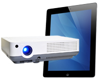 iPad & Projector Combo Rentals in Massachusetts